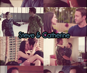 hawaii five-0, catherine rollins, and steve mcgarette image