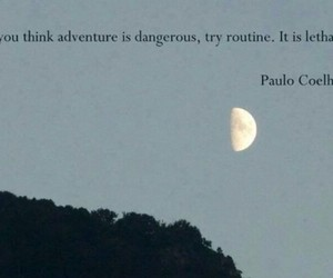 quotes, adventure, and routine image