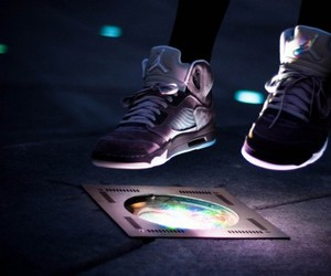 shoes, light, and swag image