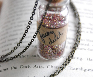 fairy dust, fairy, and magic image
