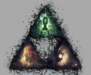 fanart and triforce image