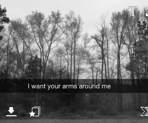 love, snapchat, and arms image