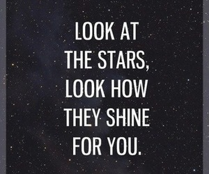 stars, coldplay, and shine image