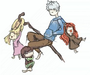 brave, hiccup, and jack frost image