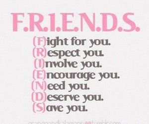 need and friends image