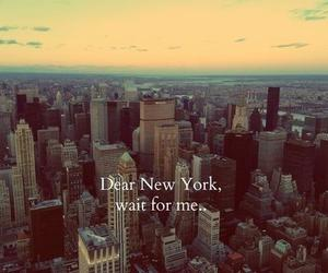 new york, city, and wait image