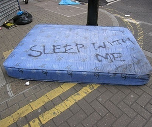 dirty, emo, and mattress image