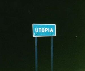 utopia, dark, and night image