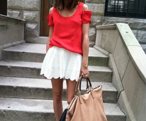 olivia palermo, style, and red image