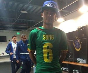 neymar jr, neymar, and brazil image