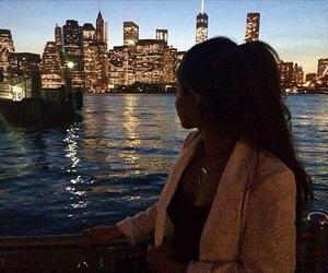 girl, city, and luxury image