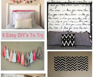 diy, ideas, and wall image