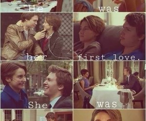 augustus, first love, and hazel image