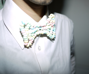 bow tie and candy image