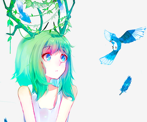 anime, vocaloid, and megpoid image