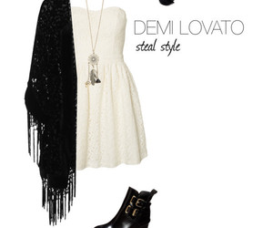 classy, summer outfit, and demi lovato image