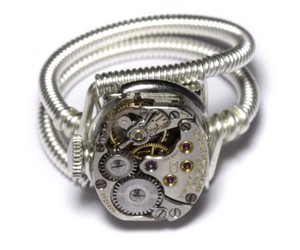 jewelry, ring, and steampunk image