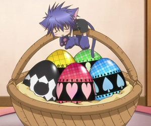 eggs, shugo chara, and yoru image