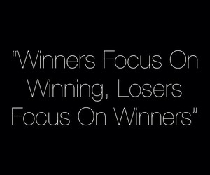 quote, true, and winner image