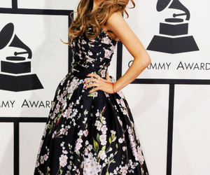 ariana grande, grammys, and dress image
