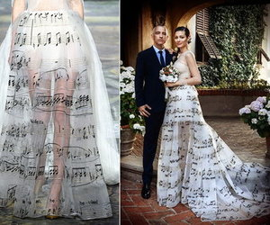 music, wedding gown, and wedding inspiration image