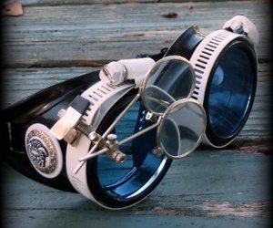 goggles and steampunk image