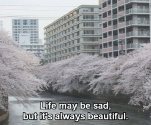 life, sad, and beautiful image