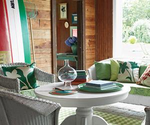 interior design and lake house image