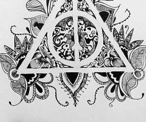 harry potter, beautiful, and drawing image