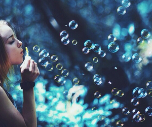 photography, beautiful, and bubbles image