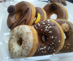 donuts, chocolate, and yummy image