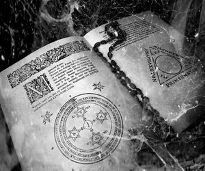 book, spell, and magic image