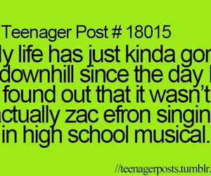 high school musical, zac efron, and teenager post image