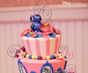 cake, disney, and food image