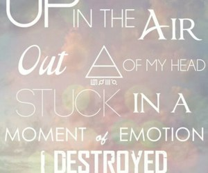 up in the air, 30 seconds to mars, and 30stm image