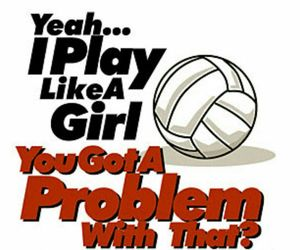 volleyball, play, and problem image