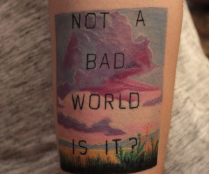 bad, tatoo, and motivations image