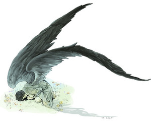 castiel and angel image