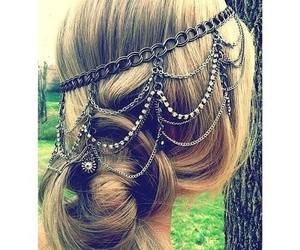 accessory, beautiful, and blonde image