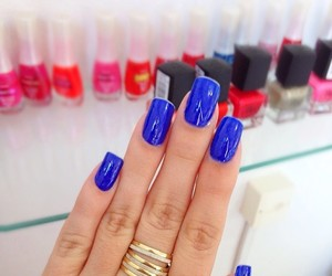 blue, nails, and gio antonelli image