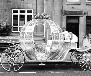 carriage, cinderella, and fairy tale image