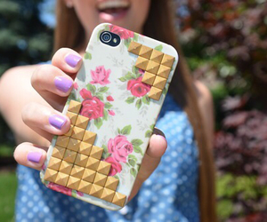 iphone, flowers, and tumblr image