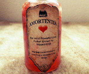bottle, forever, and harry potter image