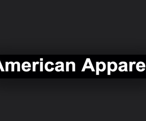american apparel, ashton, and black image
