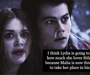 teen wolf, stiles, and lidia image