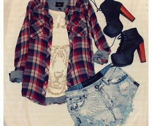 outfit, cool, and shoes image