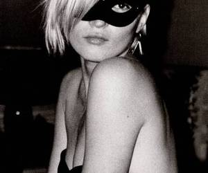 kate moss, mask, and blonde image