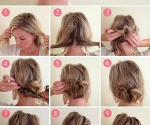 braid, hair, and mini image