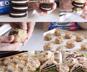 Cookies, fried oreos, and cool image