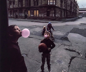 kids, bubbles, and vintage image